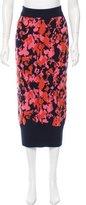 Chanel Cashmere Midi Skirt
