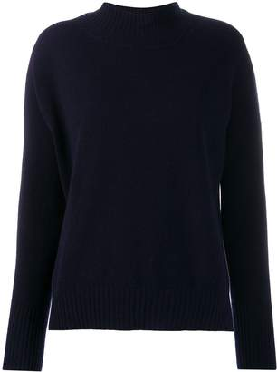 Twin-Set ribbed collar polo neck
