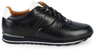 HUGO BOSS Parkour Runn Leather Sneakers