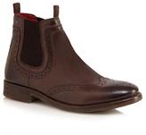 Base London Brown 'southwark' Chelsea Boots