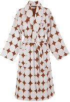 Trussardi Fregio Shawl Bathrobe - Cuoio - L/XL