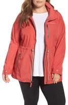 Columbia Plus Size Women's Suburbanizer Water Resistant Front Zip Hooded Jacket