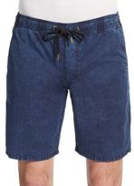 Ezekiel Kamden Acid-Wash Cotton Shorts