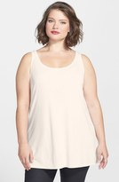 Eileen Fisher Plus Size Women's Long Silk Tank