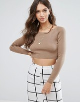Glamorous Crop Sweater