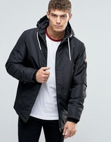 Jack & Jones Originals Hooded Parka With Fleece Lining