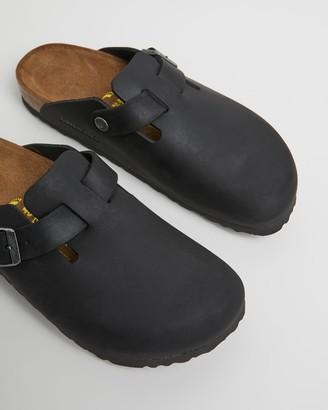 Birkenstock Boston Nubuck Oiled Narrow Shoes - Women's