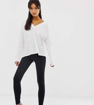 New Look high waist leggings-Black