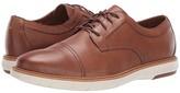 Clarks Draper Cap (Tan Leather) Men's Shoes