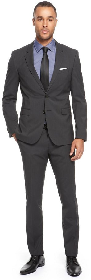HUGO BOSS 'Ryan/Win' | Extra Slim Fit, Virgin Wool-Blend Suit by BOSS