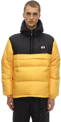 Ufu Used Future Mag Color Block Puffer Jacket