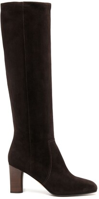 Michel Vivien Knee-Length Suede Boots