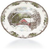 Johnson Bros. Friendly Village Oval Platter
