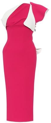 Maticevski Atomised asymmetric dress