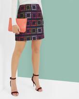 Ted Baker Horticultural Checked skirt