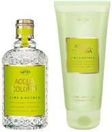 4711 Acqua Colonia - Lime + Nutmeg Duo Set by 2pcs Set)