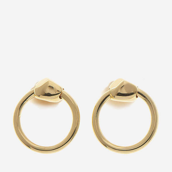 Missoma Women's Gold Nugget Hoops Gold