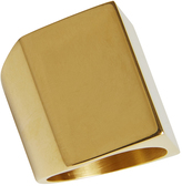 Oxford Prisma Gold Ring