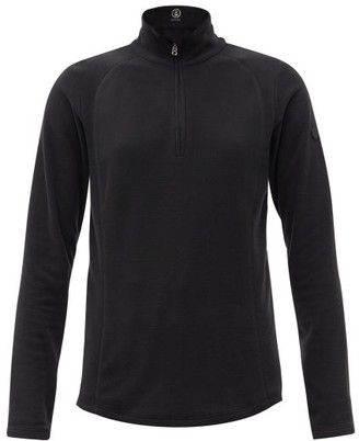Bogner Madita Zipped High-neck Fleece Jacket - Black