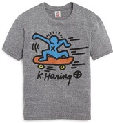 Junk Food Clothing Boys' Keith Haring Skate Tee - Sizes M-XXL