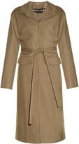 Rochas Four-pocket sateen coat
