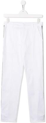Gcds Kids Side-Stripe Trousers