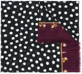 Dolce & Gabbana polka dot print scarf - women - Modal/Cashmere - One Size