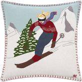 Jan Constantine Skiing Cushion - 41x41cm - Woman