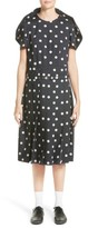 Comme des Garcons Women's Polka Dot Broadcloth Dress