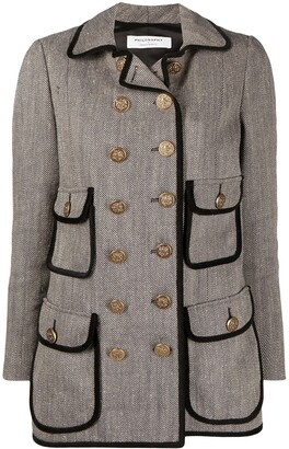 Philosophy di Lorenzo Serafini Double-Breasted Military Jacket