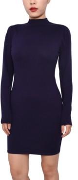 Planet Gold Juniors' Sweater Dress