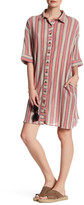 Angie Stripe Shirt Dress