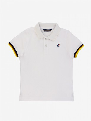 K-Way Vincent Short-sleeved Polo Shirt With Logo