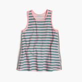 J.Crew Girls' striped sparkle tank top