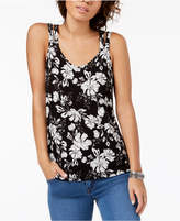 Hippie Rose Juniors' Strappy-Back Tank Top