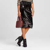 Women's Sequin Pencil Skirt - Who What Wear