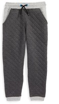 Hatley Boy's Quilted Athletic Jogger Pants