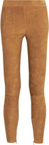 Vince Stretch-suede leggings