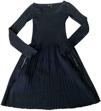 Louis Vuitton Black Wool Dresses