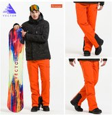 Vector Windproof Waterproof Young Fashion Winter Sports Men's Snow Pants 2X-Large
