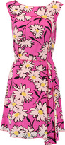 Nina Ricci Floral-print silk crepe de chine dress