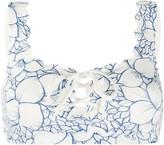 Marysia Swim floral print bikini top