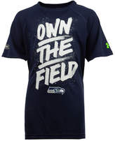 Under Armour Seattle Seahawks Combine Own The Field T-Shirt, Big Boys (8-20)