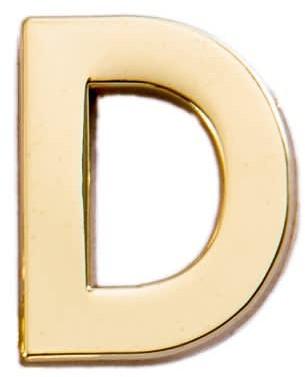 Letter D Pin