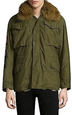 20584015b8373 AS65 Men's Original Military Jacket With Fur Collar