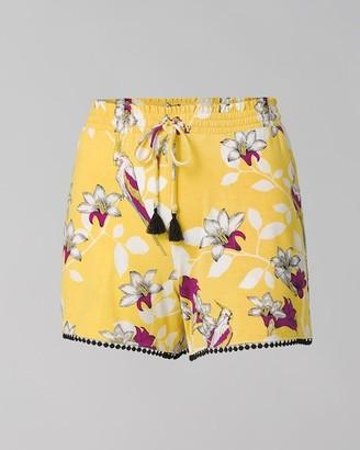 Soma Intimates Cool Nights Pom Trim Pajama Shorts