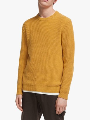 It's All Good Folk Recycled Wool Blend Directional Knit Jumper