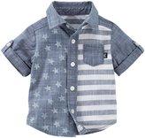Osh Kosh Chambray Stripe Shirt (Baby) - Print - 12 Months