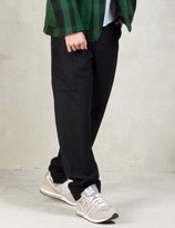 Garbstore Black Wool National Troop Pant