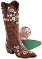 Lane Boots Allie Cowboy Boots - Snip Toe (For Women)